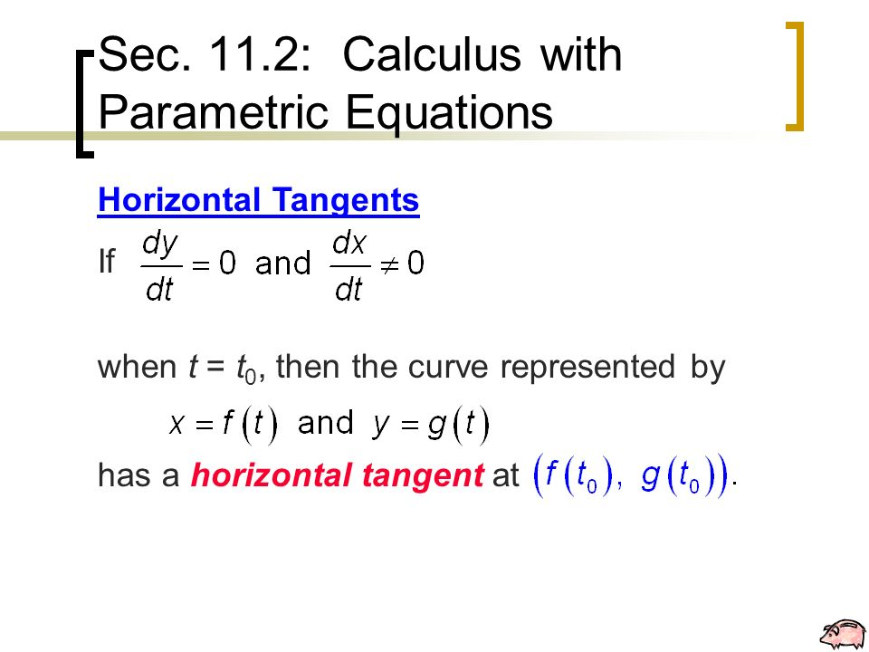 Calculus With Parametric Equations Of Tangents Calculus Ii - Imagez co