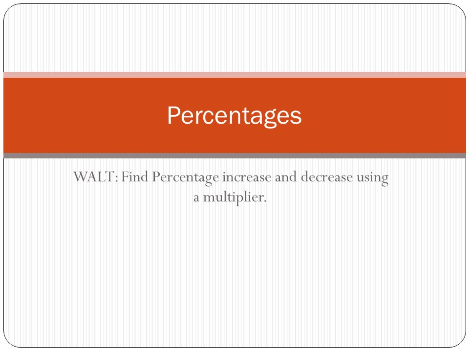 how to find percentage The amount is some percent of the base in a percent problem, we are given two  of those numbers and we are asked to find the third we have already seen.
