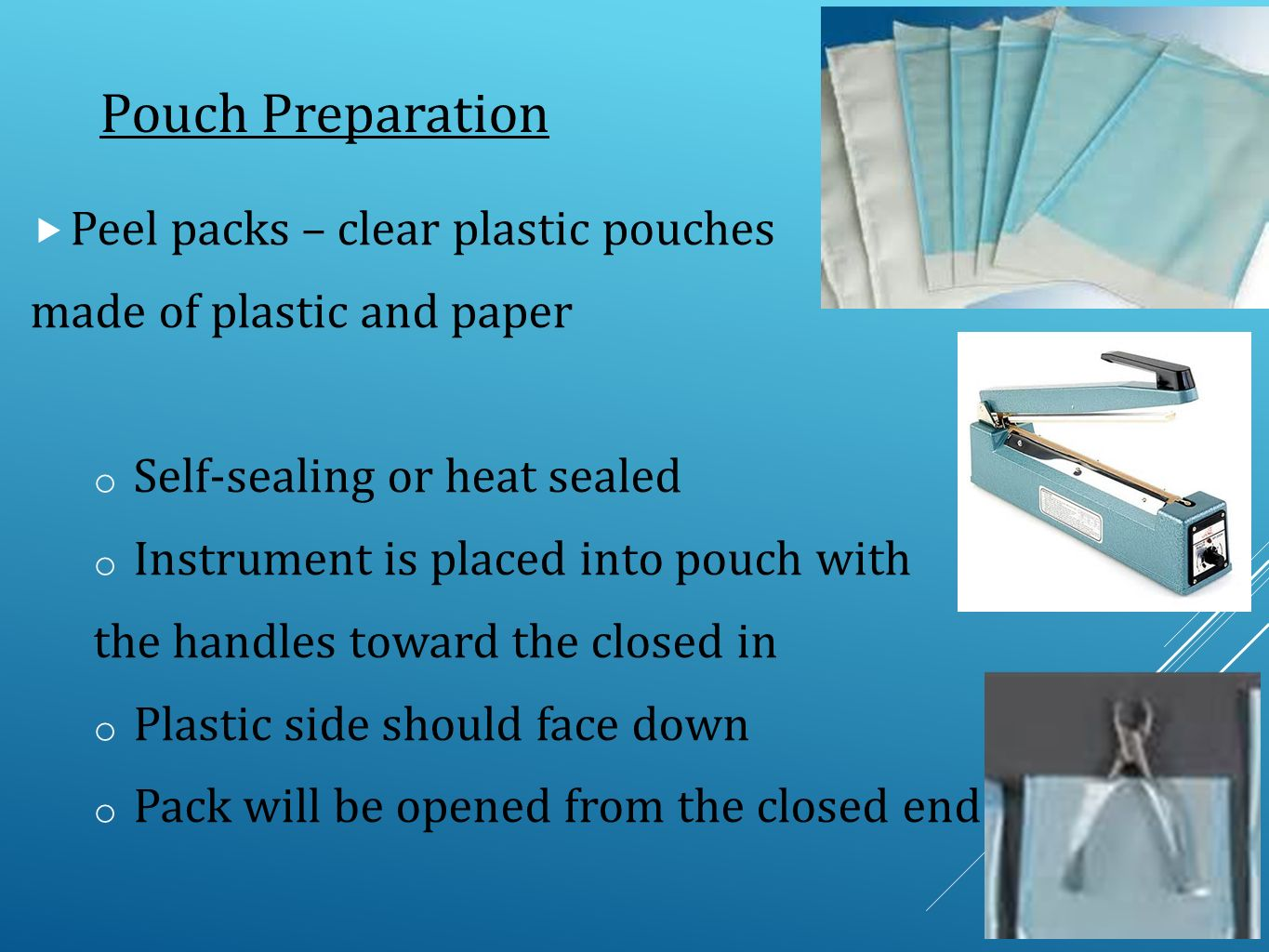 Aseptic technique and Sterilization Methods CTVT pgs