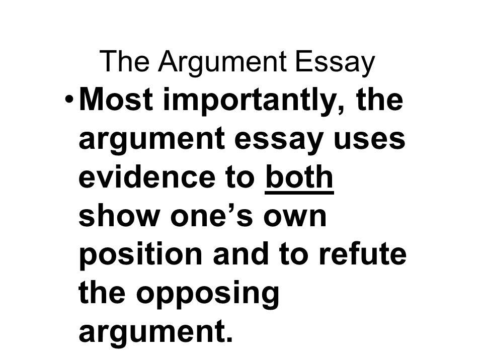 friends argument essay