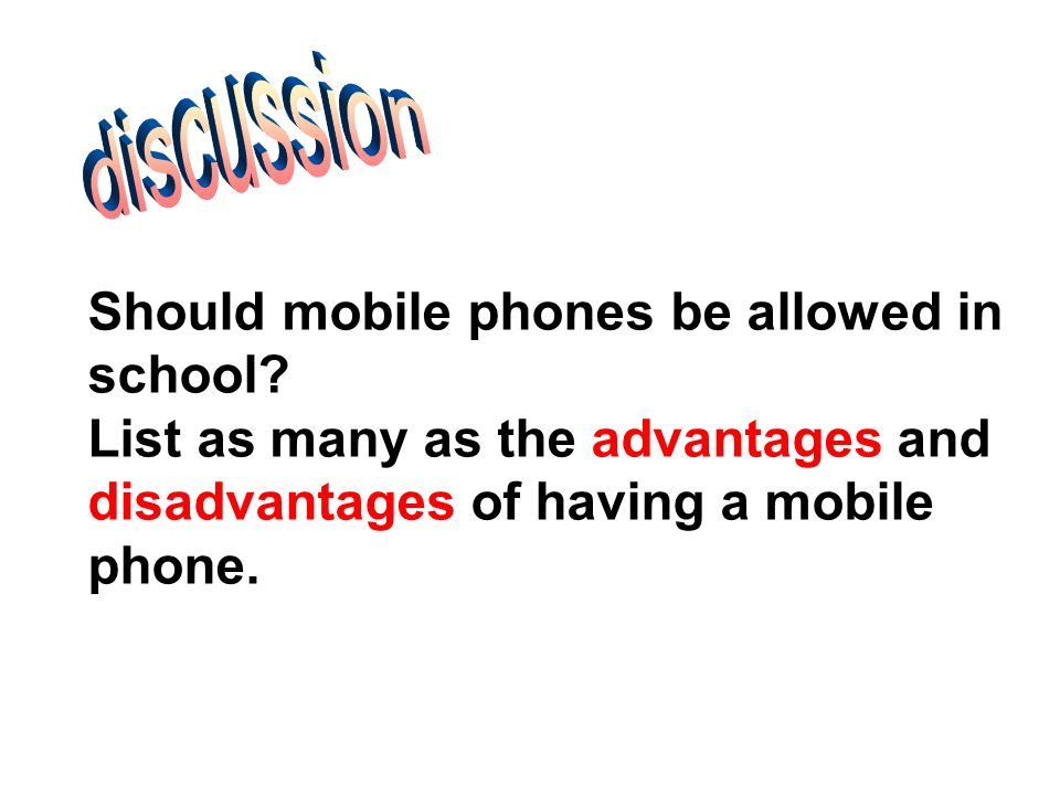 mobile phones should be allowed at school Dear editor,i am a student at the west demerara secondary school recently we  were discussing cell phones and how they affect children in.