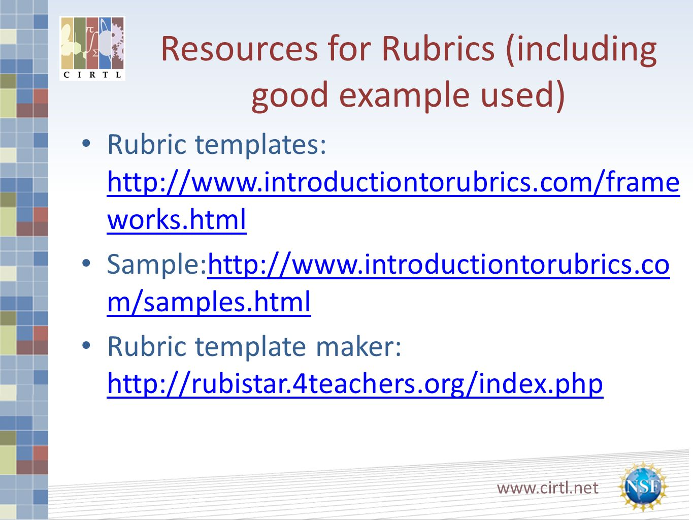 rubric template maker - welcome to teaching in the us ppt download