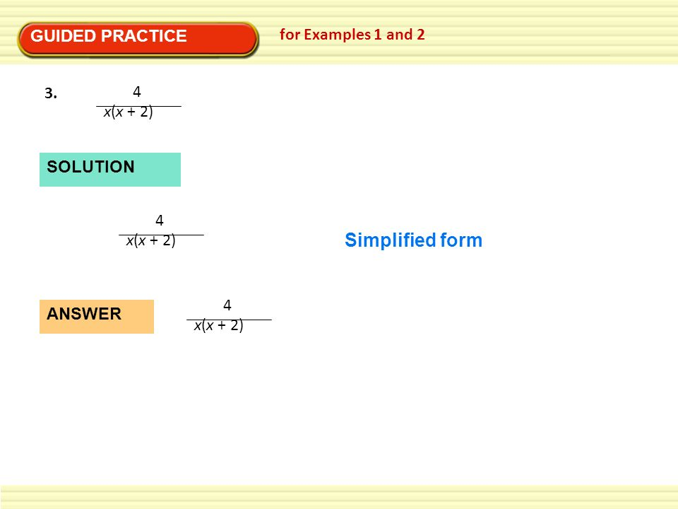 8 4 Multiply & Divide Rational Expressions - ppt video ...