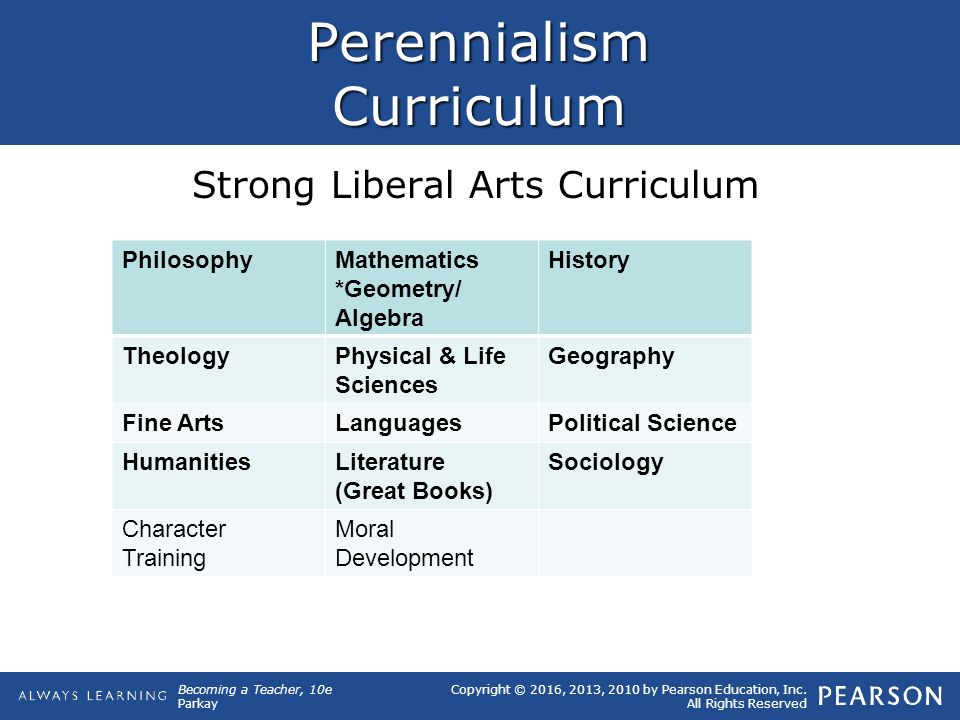 philosophical essay perennialism kauchak These educational philosophical approaches are currently used in classrooms  the world over they are perennialism, essentialism, progressivism, and.