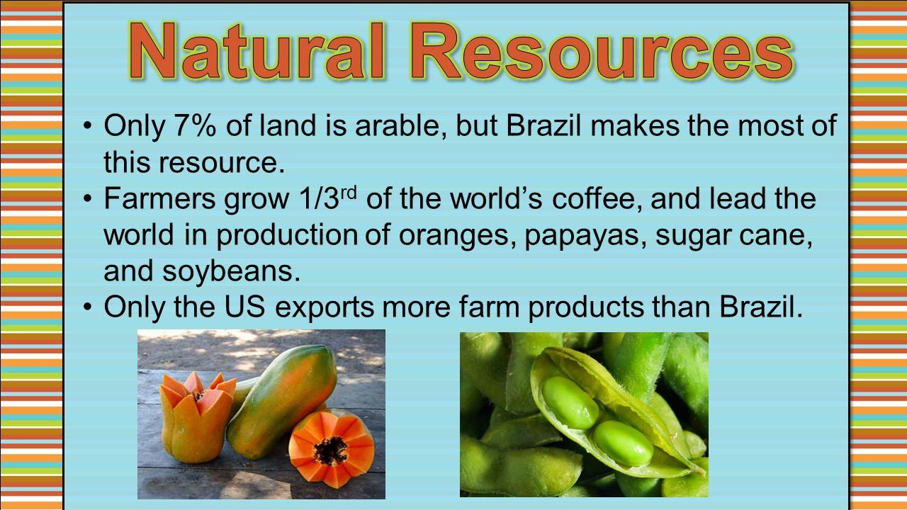 Mexico Venezuela Cuba Brazil Ppt Video Online Download - Natural resources of brazil