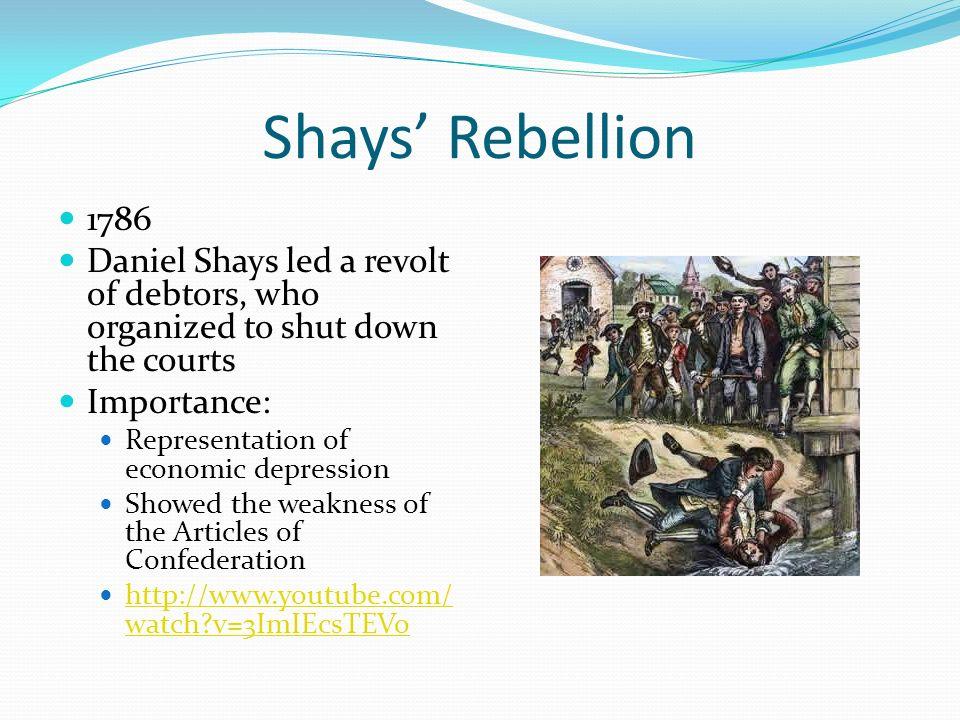 Shays rebellion date in Australia