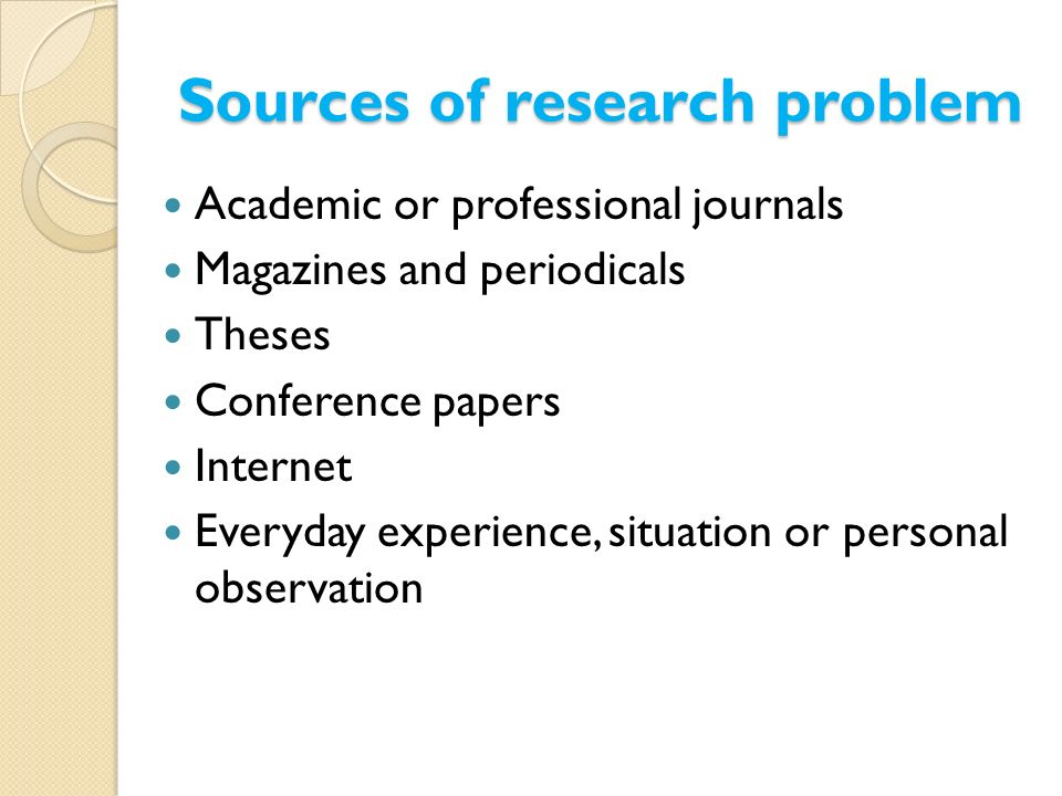 academic sources for research papers Online guide to writing and research  how should research sources be evaluated  the credibility and appropriateness of those materials for academic research .