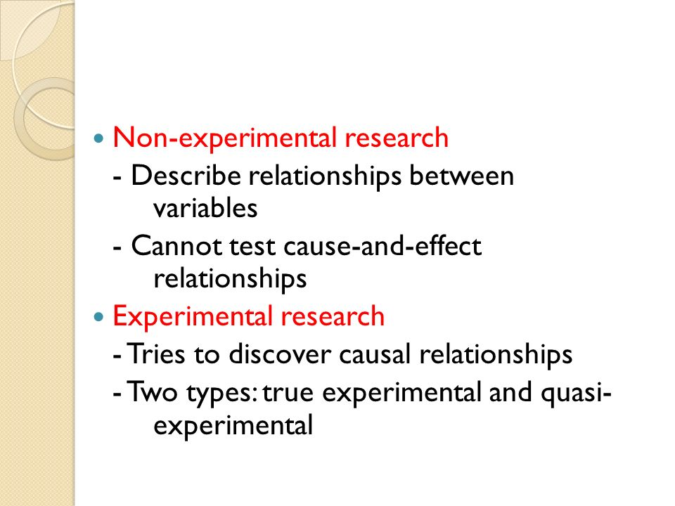 what are the principal data sources in experimental and quasi experimental research Eugene w muller is research associate/data manager for the second iea  the chief advantage of these methods is the control over sources of invalidity if we can study  experiment and the quasi-experiment are designed to control for .