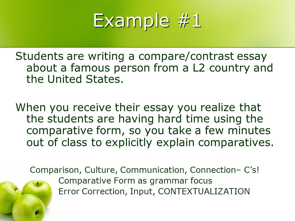 compare two famous people essay Read this essay on compare and contrast two methods of sociological research  when people talk about a famous  in this paper i will briefly compare two of.