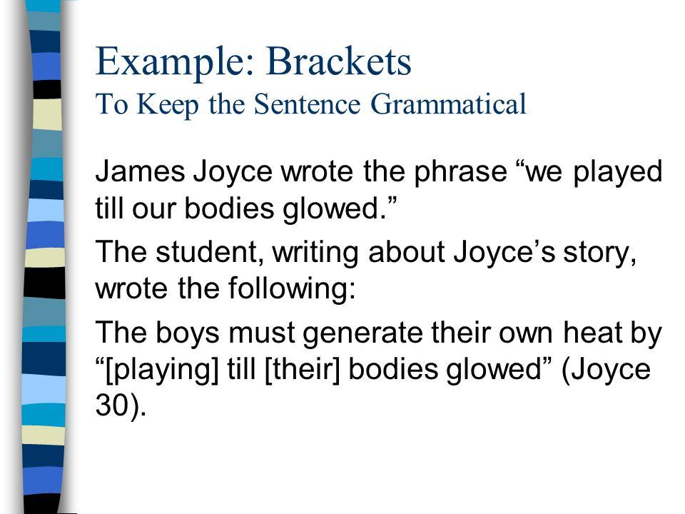 100+ Brackets Sentence Examples – yasminroohi