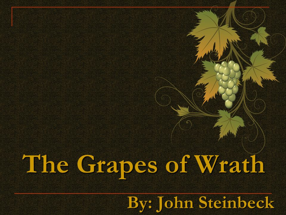 an analysis of the conditions of migratory families in the grapes of wrath by john steinbeck Summary as the cars of the migrant families travel west the grapes of wrath john steinbeck buy analysis chapter 17 provides an abstract illustration of.