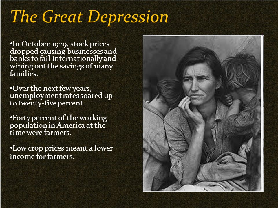 the effects of the great depression in the grapes of wrath by john steinbeck Teaching steinbeck and 'the grapes of wrath' with the new  investigating the causes and effects of  john steinbeck the great depression .