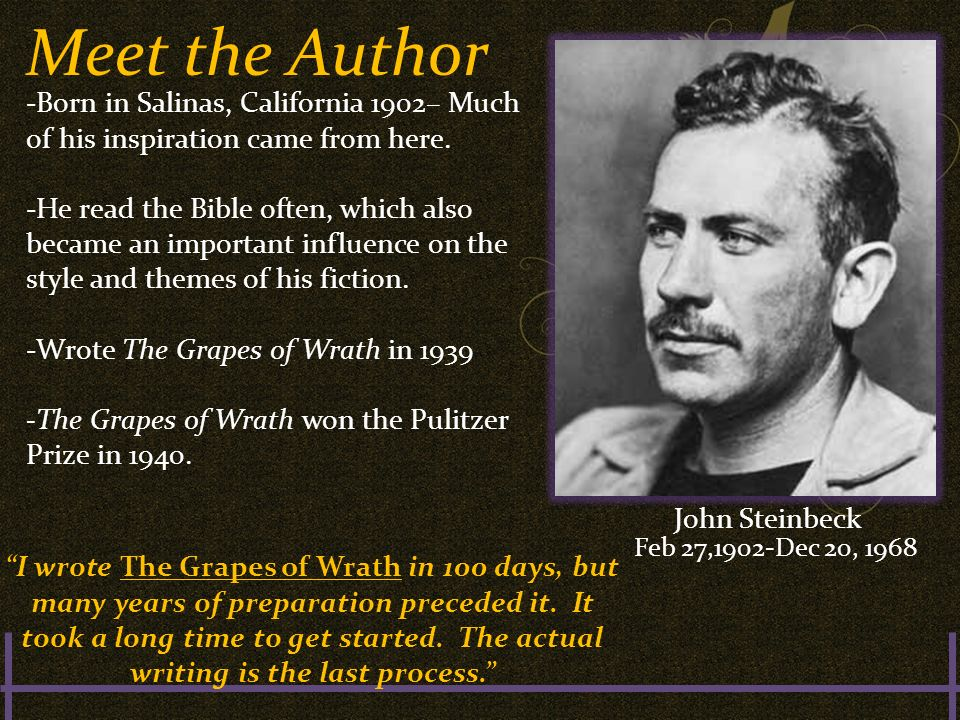 the theme of kindness in the grapes of wrath a novel by john steinbeck The grapes of wrath  the grapes of wrath by: john steinbeck  these ideas provide the foundation for the acts of charity and kindness that unify the migrant .