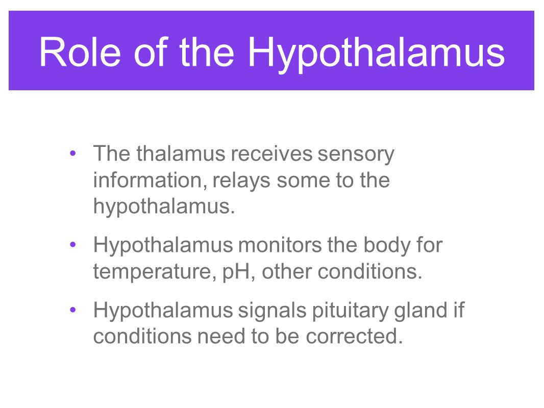 role of the pituitary gland Watch our video and learn more on medlineplus: pituitary gland.
