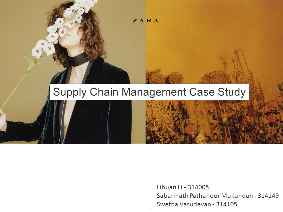 case study supply chain management zara