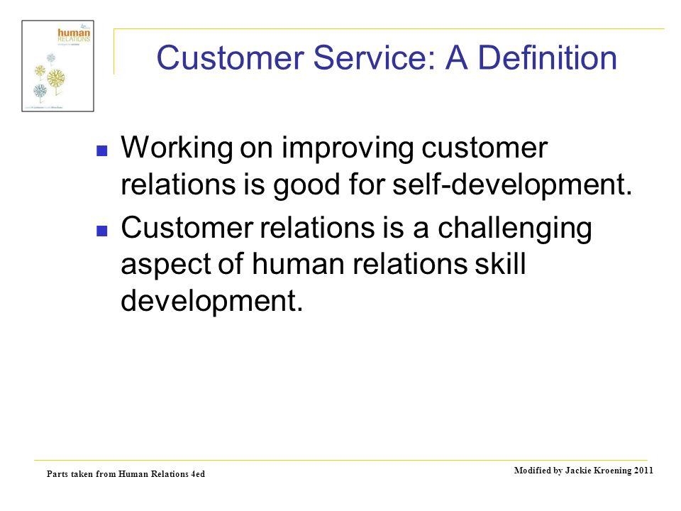 Three Aspects of Customer Service Skills