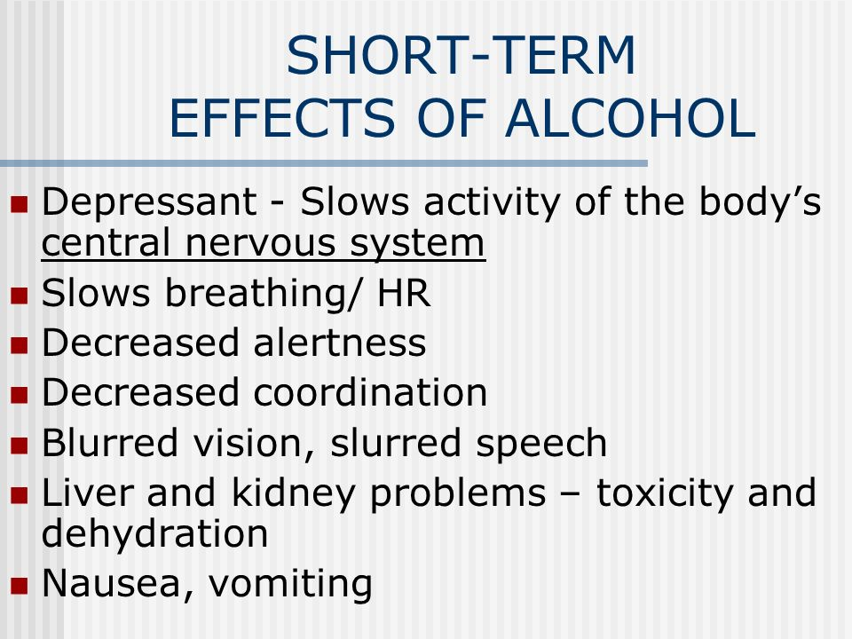 ALCOHOLISM Alcoholism – disease which a person has a ...