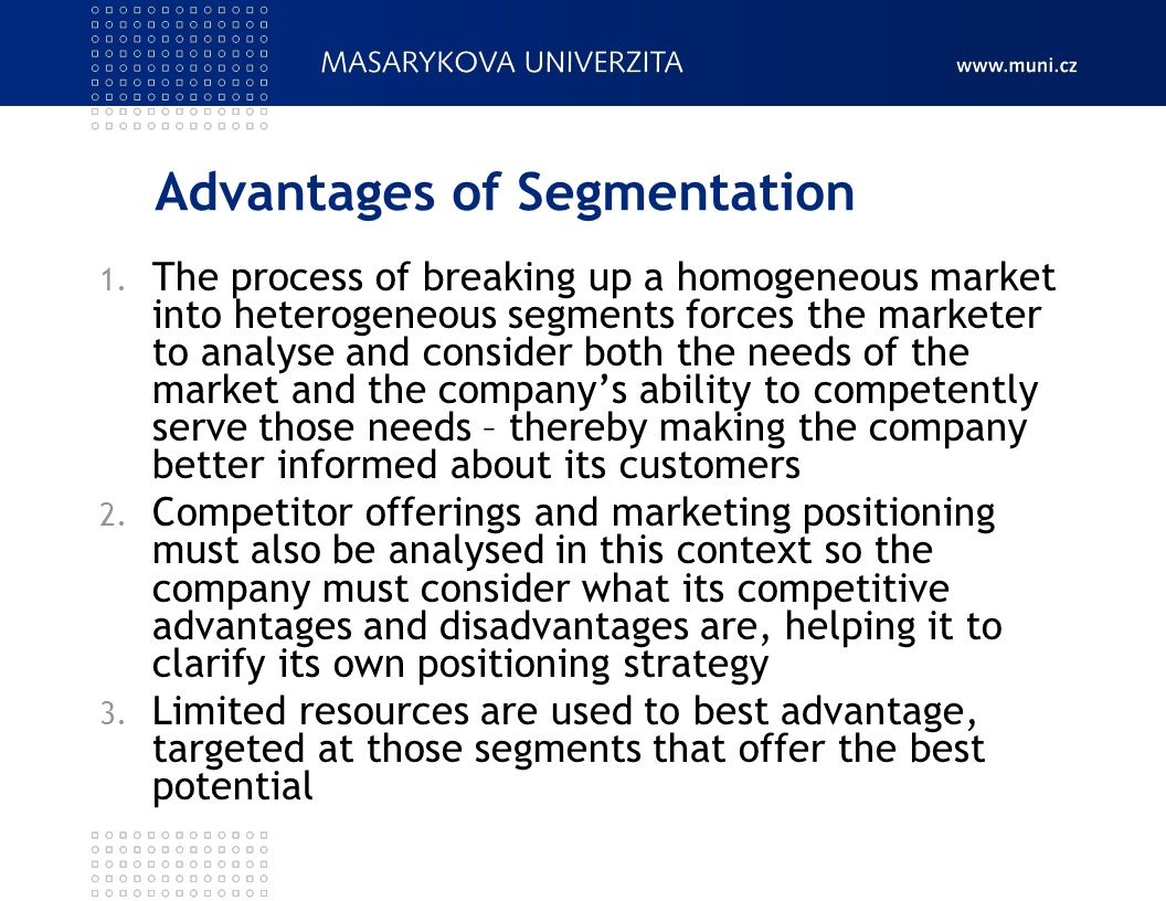 benefits and risks of individualized segmentation Benefits • application  individualized cost and use reporting,  using shared segmentation that opens security risks from eastwest traffic.