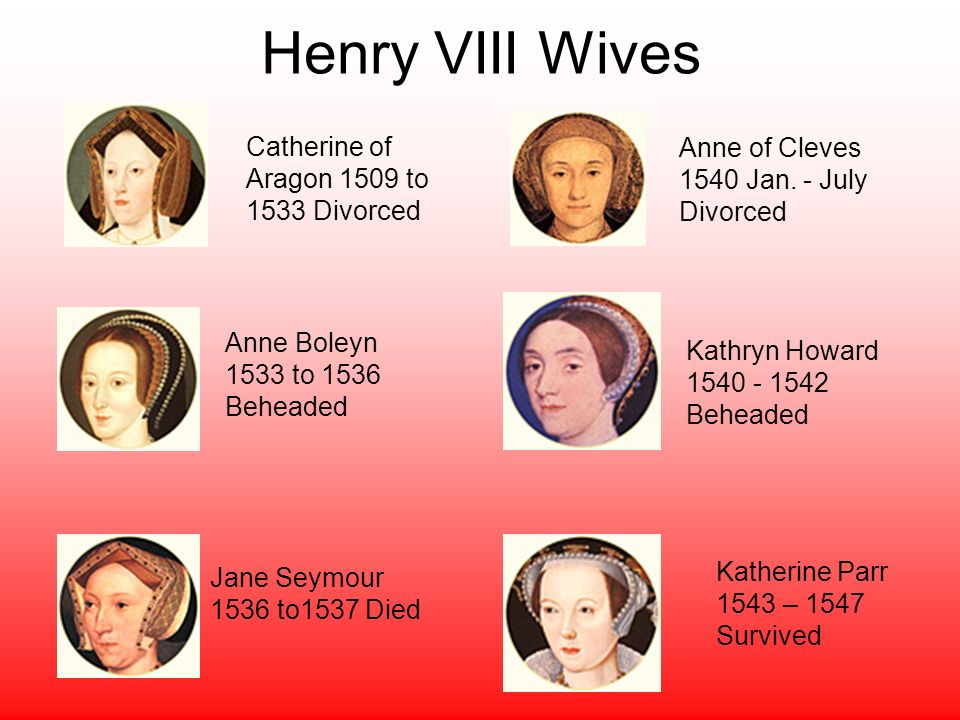divorced beheaded and survived A common mnemonic device to remember the fates of henry's consorts is divorced, beheaded, died, divorced, beheaded, survived there is.