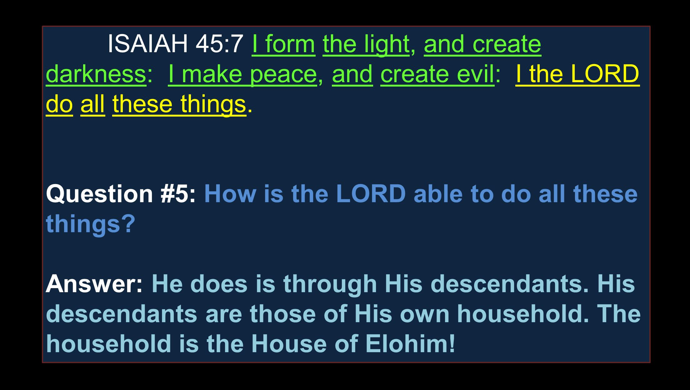 """The Evidence Part 6 """"The House of Elohim"""". - ppt download"""
