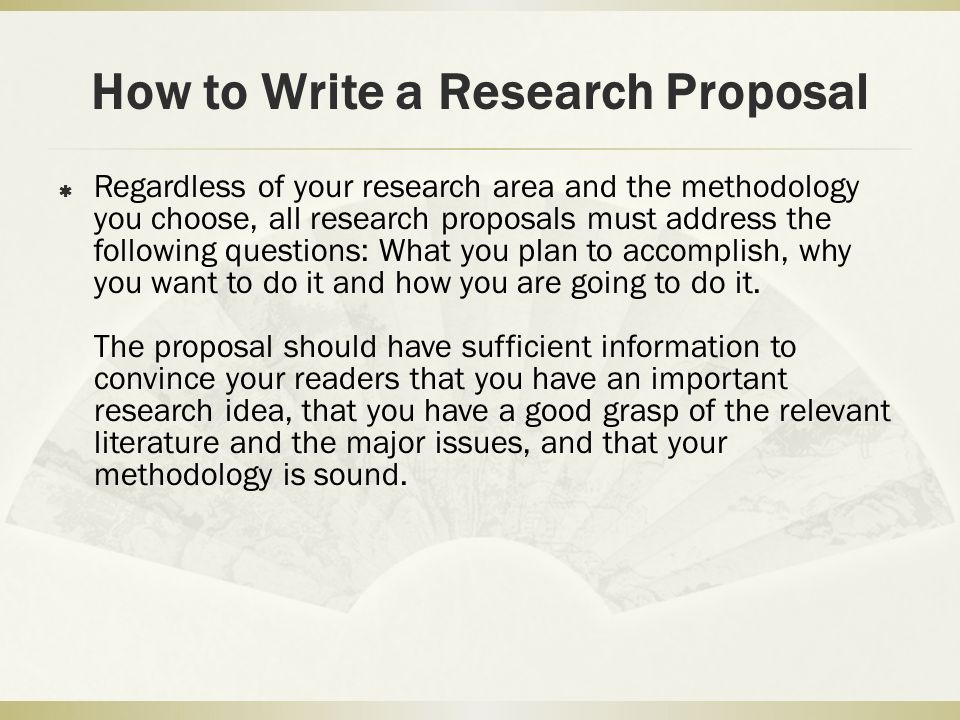 how to write research