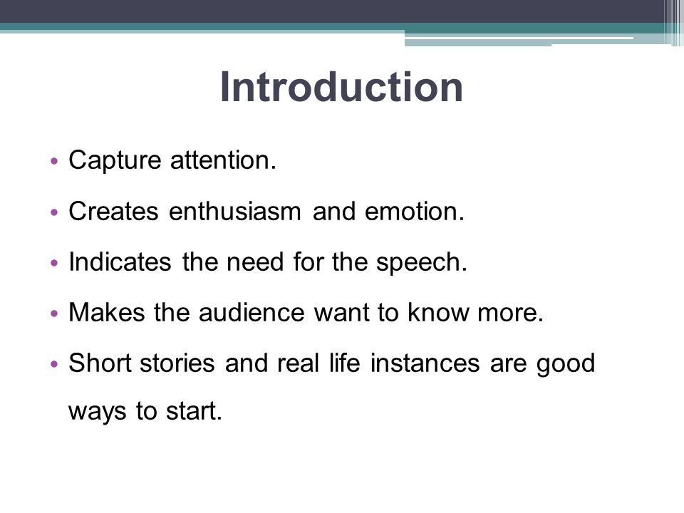 techniques on how to catch audience attention on a speech 29 super effective ways to get your students' attention without ever raising your to get your students attention speech and ask your students to catch.
