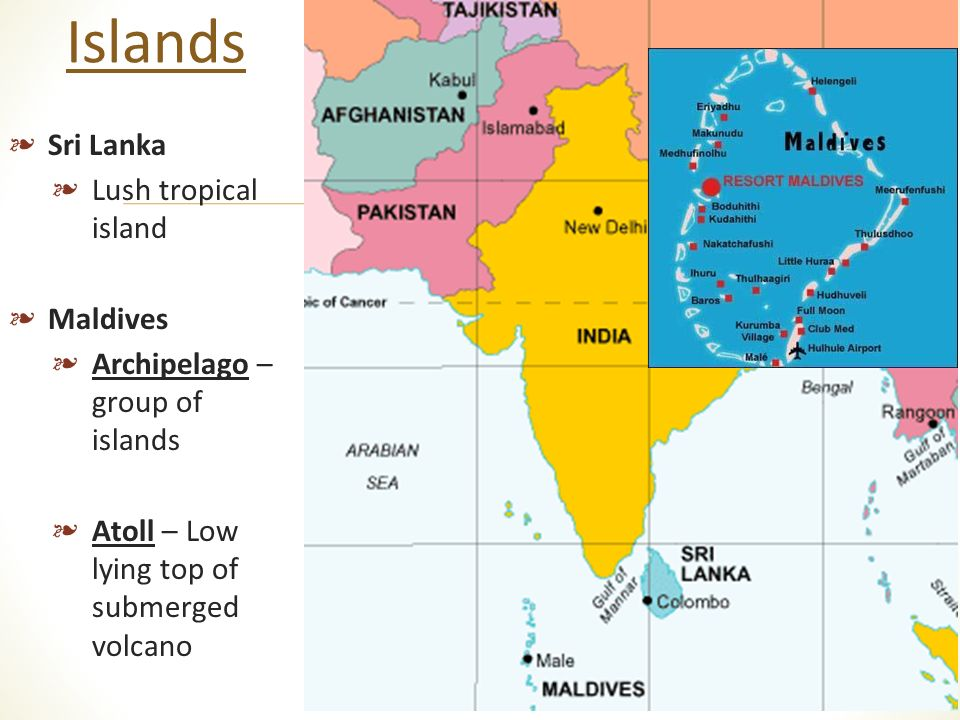 Maps Due And Map Quiz Next Period Ppt Video Online Download - India maldives map male