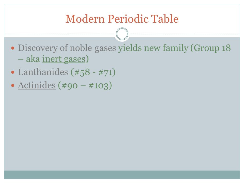 Do now grab packet and periodic table 1 ppt video online download modern periodic table discovery of noble gases yields new family group 18 aka inert urtaz Image collections