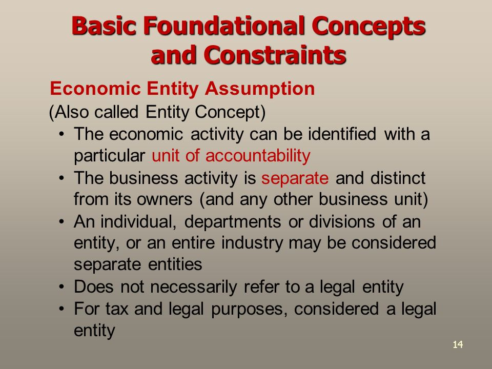 a separate legal entity