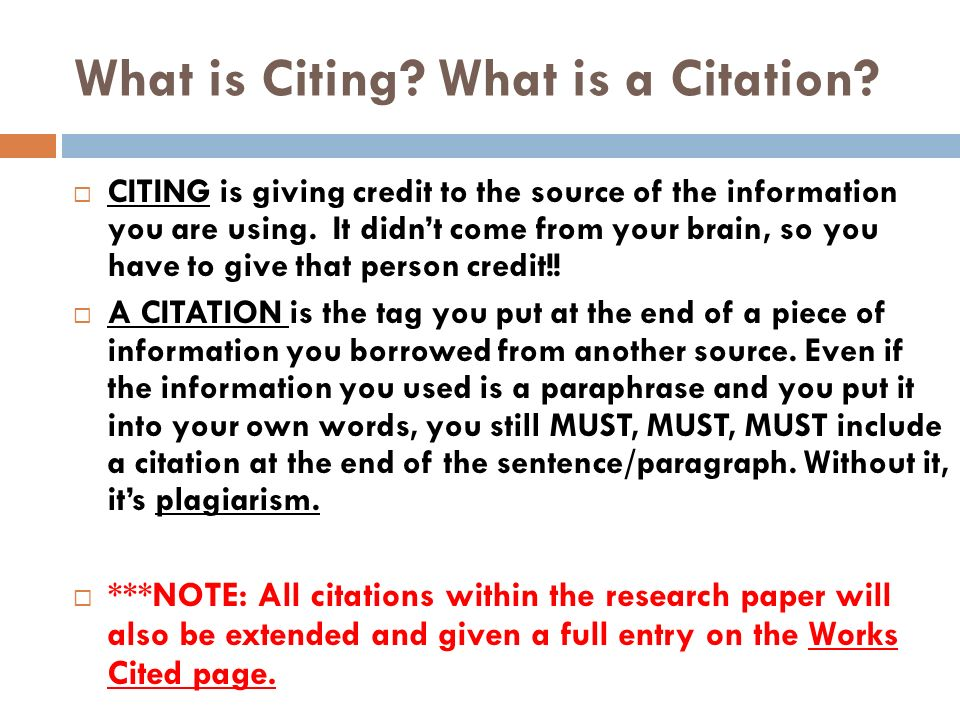 what needs to cited a research paper Citing references in scientific research papers your list of references cited should include all of the references you cited in your paper, and no more.
