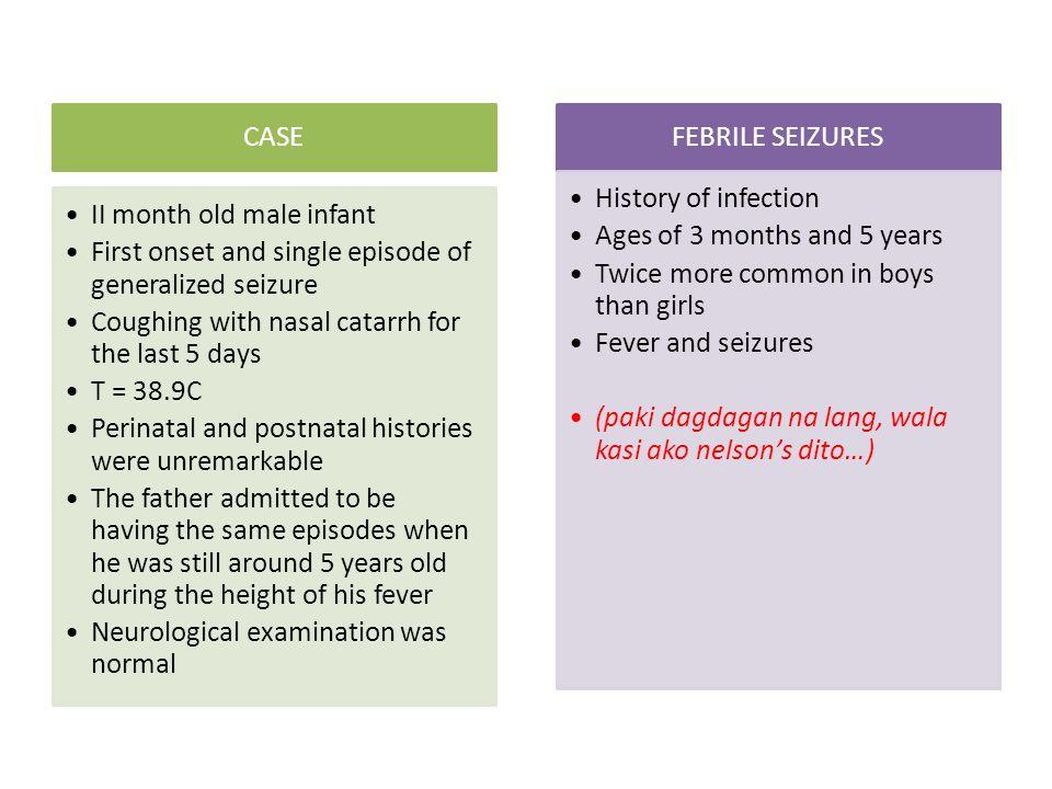 Spinal meningitis case study
