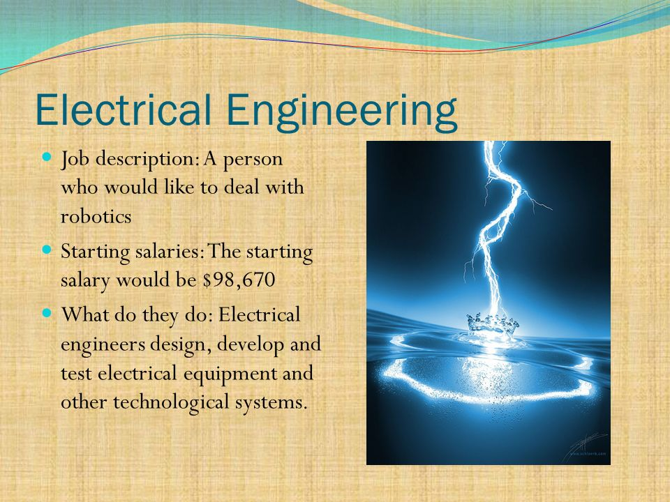 The Six Disciplines Of Engineering ppt download – Job Description of Electrical Engineer