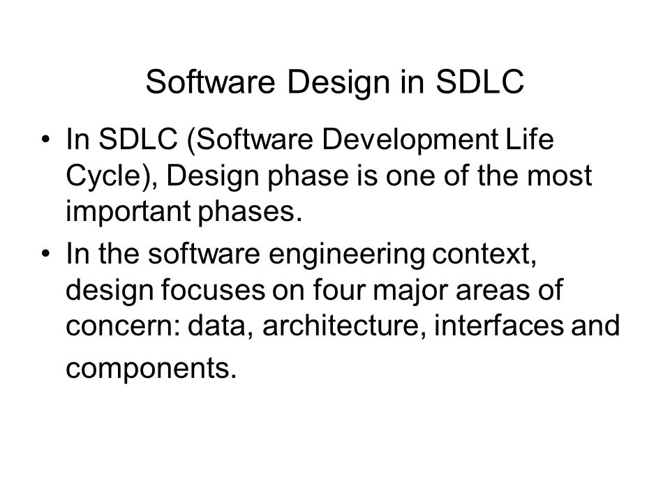 sdlc phases in software engineering pdf