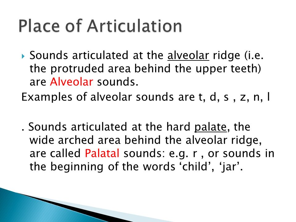 Study definition articulation