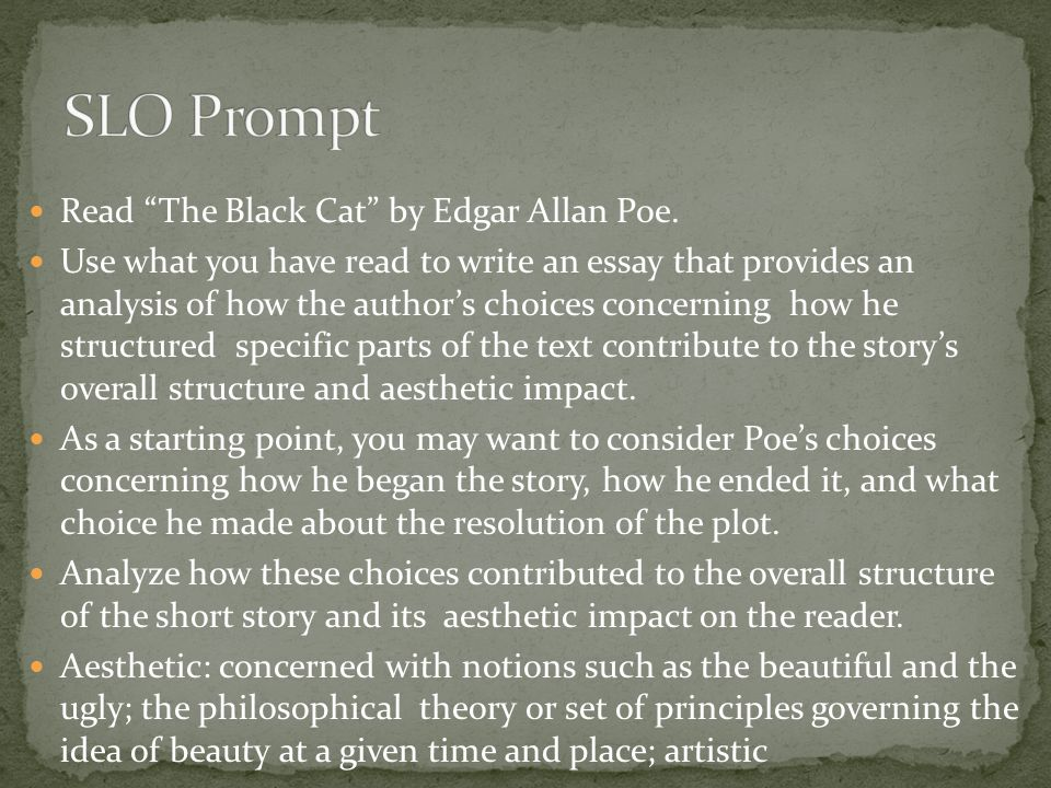 edgar allan poe s essay the theory The poetic principle is an essay written by edgar allan poethis text is very different from poe's usual style, steering away from the.