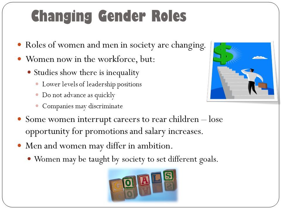 changing gender roles of men and Get daily email we are the only international conversation about the changing roles of men in the 21st century register your email.