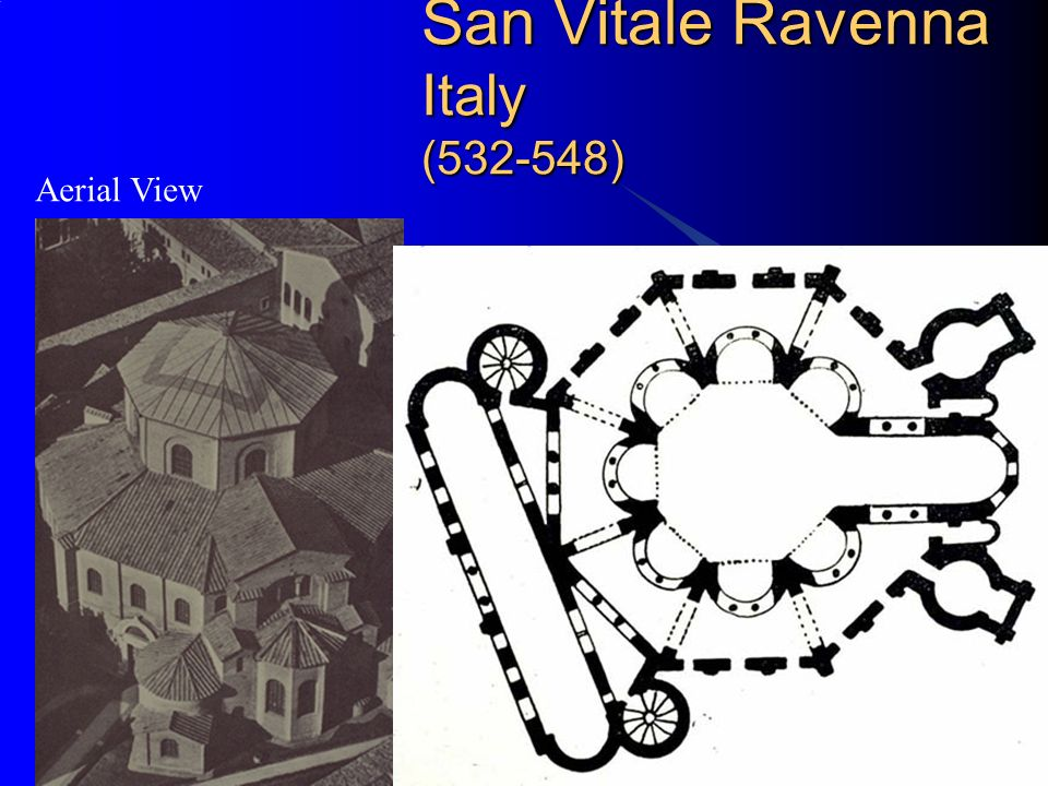 San Vitale Ravenna Italy (532-548)