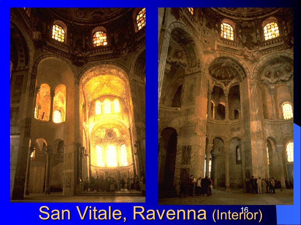 San Vitale, Ravenna (Interior)