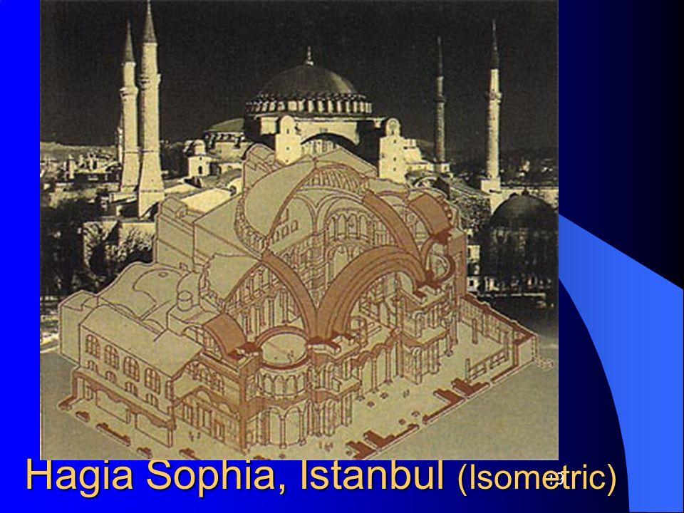 Hagia Sophia, Istanbul (Isometric)