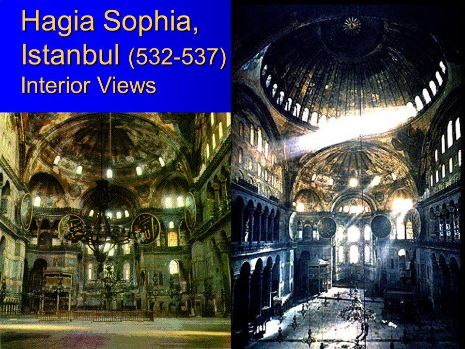 Hagia Sophia, Istanbul (532-537) Interior Views