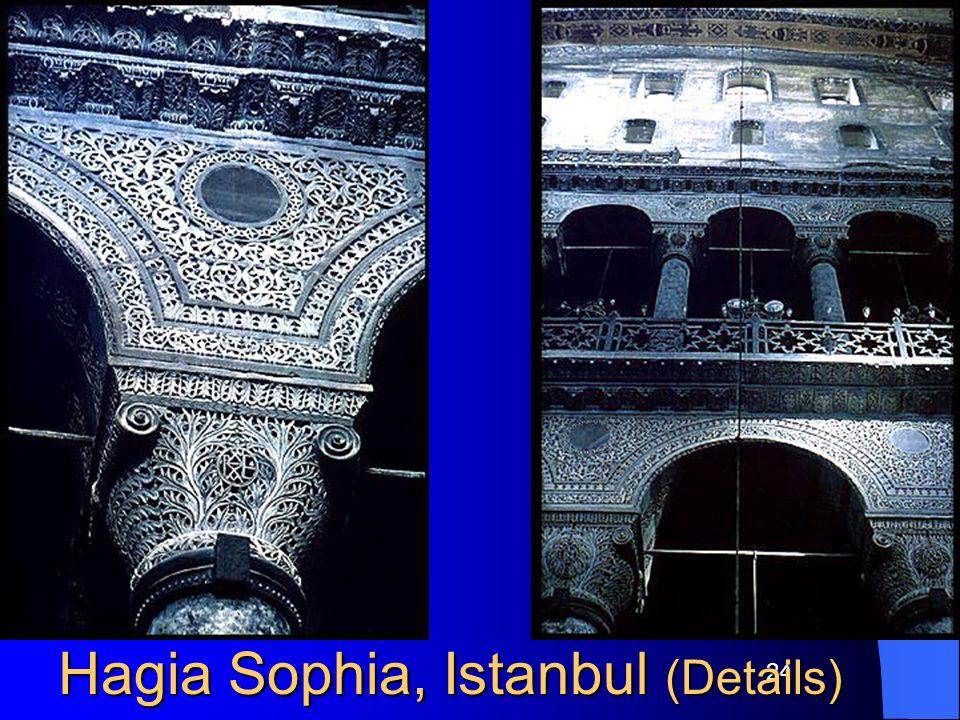 Hagia Sophia, Istanbul (Details)