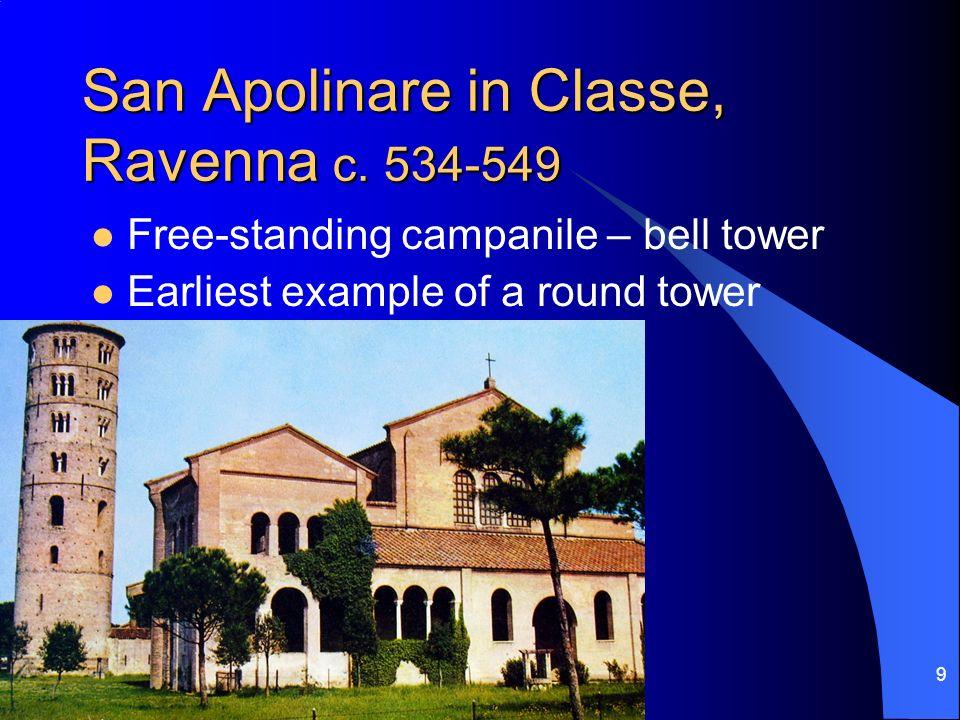 San Apolinare in Classe, Ravenna c. 534-549