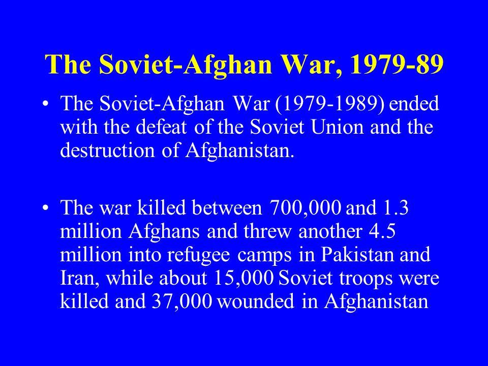 The Soviet-Afghan War, 1979-89