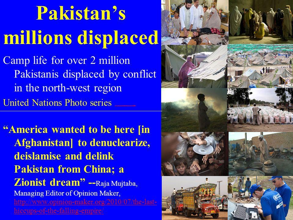 Pakistan's millions displaced
