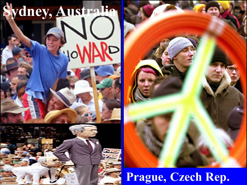 Sydney, Australia Prague, Czech Rep.