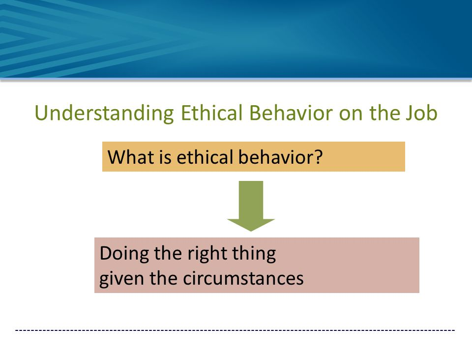 understanding moral and ethical behavior Ethics is a set of principles for what constitutes right and wrong behavior   weber of marquette university found that teaching ethical awareness and  reasoning.
