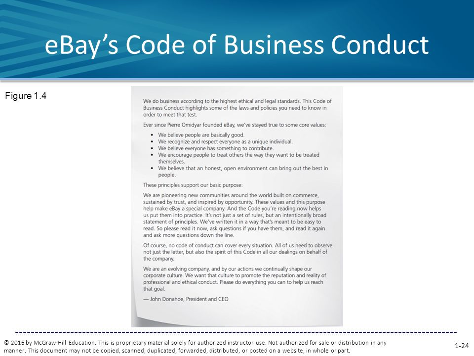 ebay business ethics Find great deals on ebay for business ethics and business ethics ferrell shop with confidence.