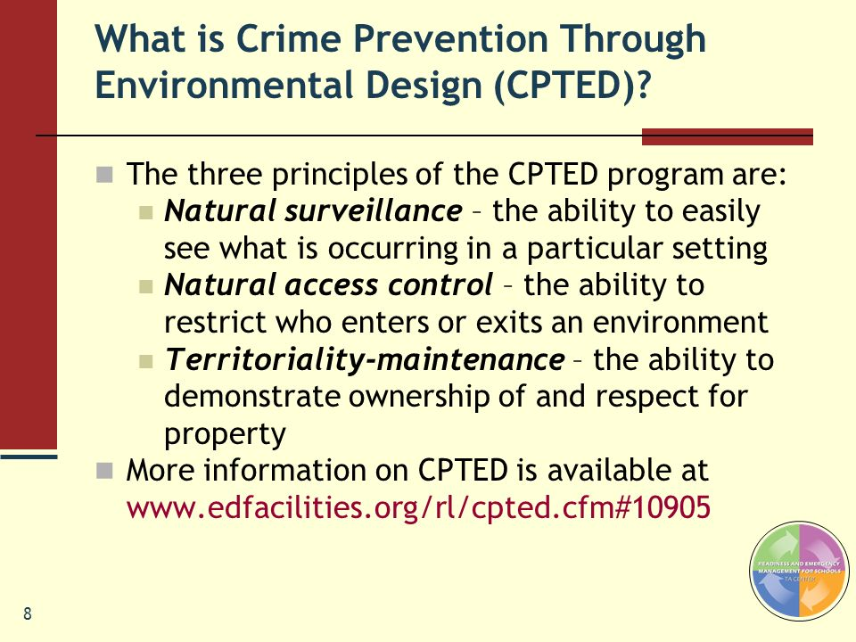 What is Crime Prevention Through Environmental Design (CPTED)