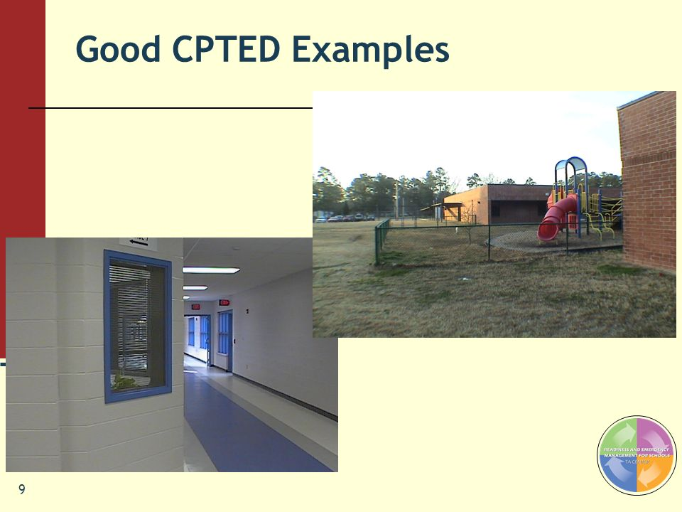 Good CPTED Examples Pegi