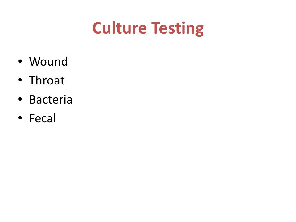 throat culture culture of a microbe Sore throat (pharyngitis) authors history pharyngitis is the term used to describe any inflammation of the pharynx a variety of bacterial and viral pathogens can arcanobacterium haemolyticum is not a common cause of pharynitis and is it difficult to identify on a standard throat culture.